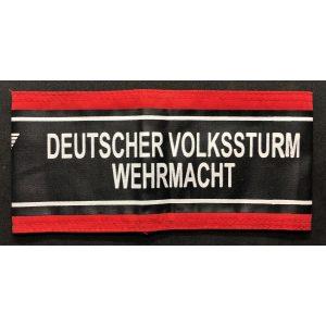 Brazalete Deutscher Volkssturm
