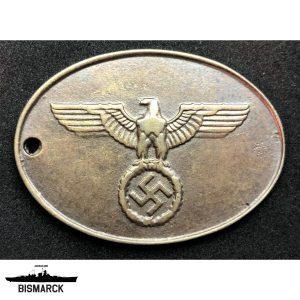 Chapa Gestapo tipo 2