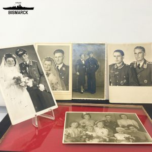 Lote 5 fotos WWII